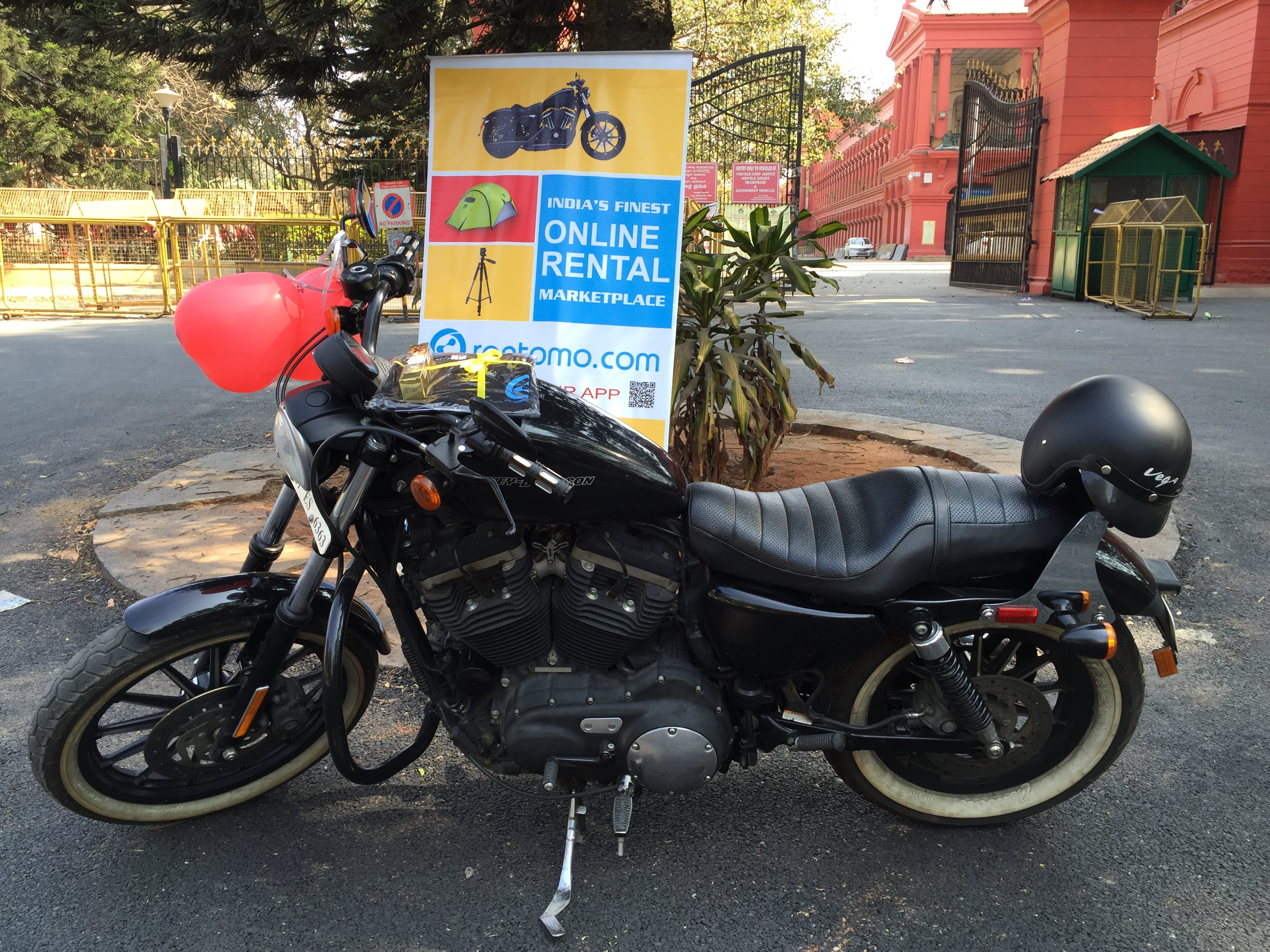 Valentine Harley Davidson Contest Rentomo